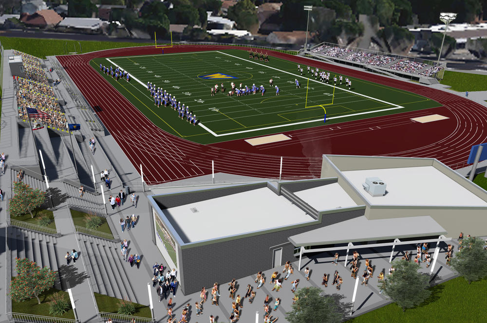 Wildcat stadium rendering