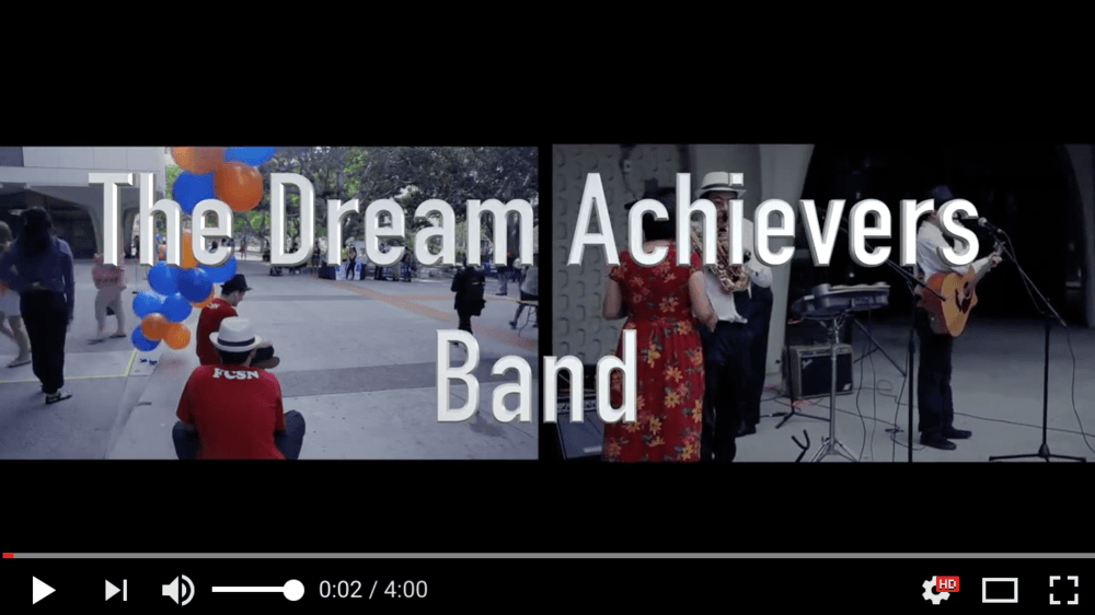Dreamer Achievers Band You Tube