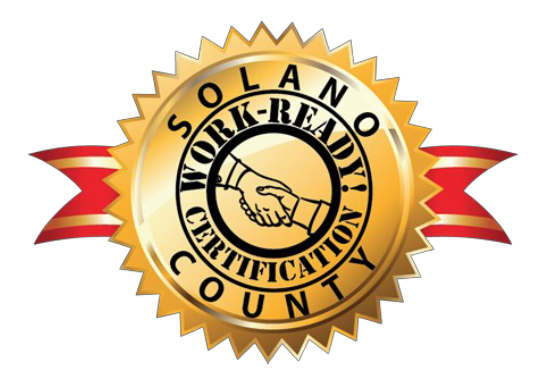 Solano County Work Ready  seal