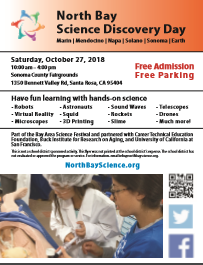 North Bay Science Discovery Day Flyer
